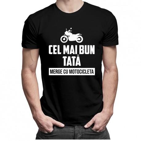 Cel mai bun tată merge cu motocicleta - T-shirt pentru bărbați
