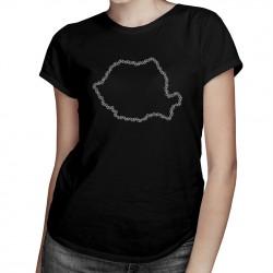 Biciclete - România - T-shirt pentru femei