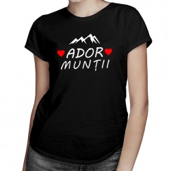 Ador munții - T-shirt pentru bărbați și femei