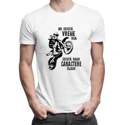 Nu există vreme rea - T-shirt pentru bărbați cu imprimeu