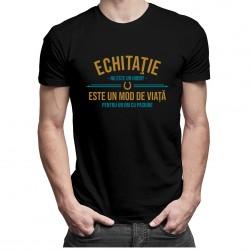 Echitaţie nu este un hobby - T-shirt pentru bărbați