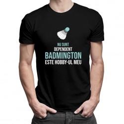 Badmington-ul este hobby-ul meu - T-shirt pentru bărbați cu imprimeu