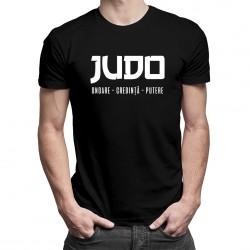 Judo - onoare - credință - putere - T-shirt pentru bărbați cu imprimeu