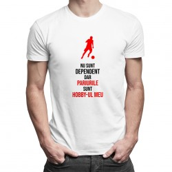 Pariurile sunt hobby-ul meu - T-shirt pentru bărbați cu imprimeu
