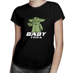 Baby Yoda - T-shirt pentru femei cu imprimeu