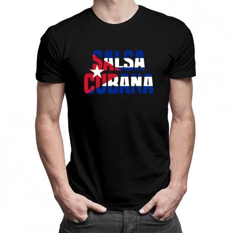 Salsa cubana - T-shirt pentru bărbați cu imprimeu