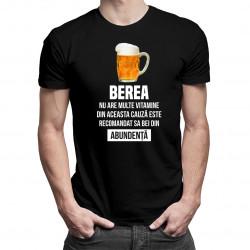 Berea nu are multe vitamine - tricou bărbătesc cu imprimeu