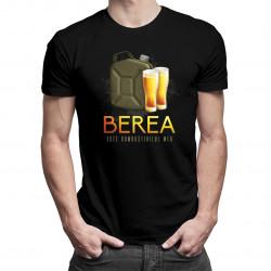 Berea este combustibilul meu - tricou bărbătesc cu imprimeu