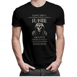Sunt tipul din iunie. Am 3 fețe - T-shirt pentru bărbați