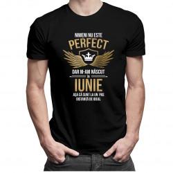 Nimeni nu este perfect, dar m-am născut în iunie - T-shirt pentru bărbați