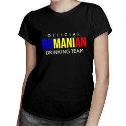 Official romanian drinking team - T-shirt pentru femei
