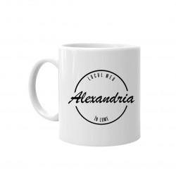 Alexandria - locul meu în lume - cană