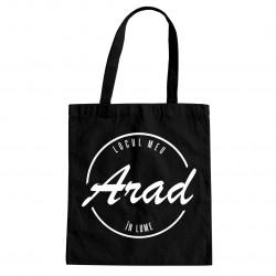 Arad - locul meu în lume - Geantă cu imprimeu