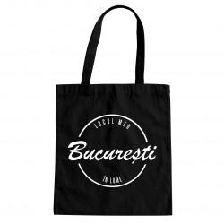 București - locul meu în lume - Geantă cu imprimeu