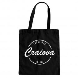 Craiova - locul meu în lume - Geantă cu imprimeu