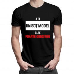 A fi un soț model este foarte obositor - t-shirt pentru bărbați