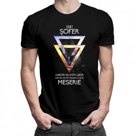 Destul de mult curaj pentru a fi șofer - T-shirt pentru bărbați