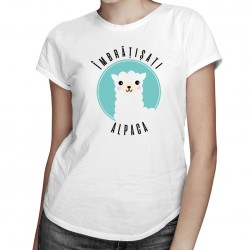 Îmbrățișați alpaca - T-shirt pentru femei