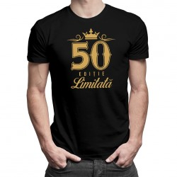 50 de ani - ediție limitată - T-shirt pentru bărbați și femei