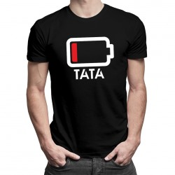 Baterie - Tricou pentru tată - T-shirt pentru bărbați