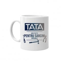 Tata - Unitate pentru sarcini speciale - cană ceramică cu imprimeu