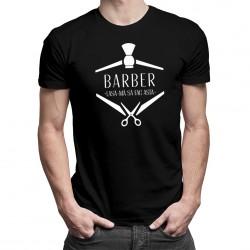 Barber - lasă-mă să fac asta - T-shirt pentru bărbați