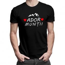 Ador munții - T-shirt pentru bărbați