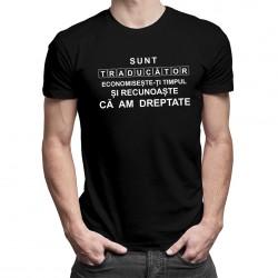 Sunt traducător - T-shirt pentru bărbați