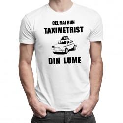 Cel mai bun taximetrist din lume - T-shirt pentru bărbați cu imprimeu