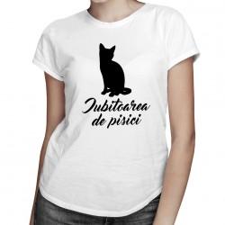 Iubitoarea de pisici  - T-shirt pentru femei