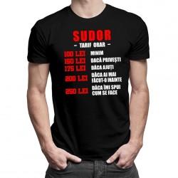 Sudor - tarif orar - T-shirt pentru bărbați