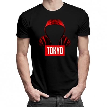 Tokyo - T-shirt pentru bărbați cu imprimeu