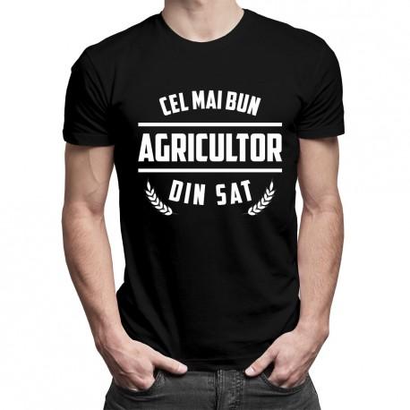 Cel mai bun agricultor din sat - T-shirt pentru bărbați cu imprimeu