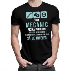 Sunt mecanic - rezolv probleme - T-shirt pentru bărbați