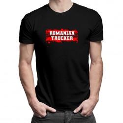 Romanian trucker - T-shirt pentru bărbați cu imprimeu