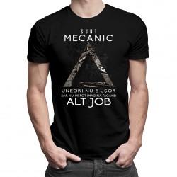 Sunt mecanic, uneori nu e uşor - T-shirt pentru bărbați