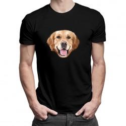 Golden retriever - T-shirt pentru bărbați cu imprimeu