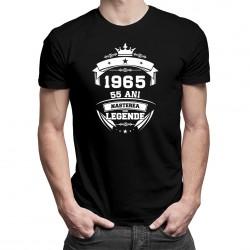 Nașterea unei legende - 55 ani! - tricou bărbătesc cu imprimeu