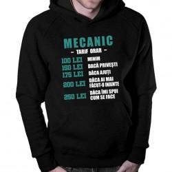 Mecanic - tarif orar - bluză cu glugă pentru bărbați