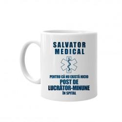 Salvator medical, pentru că nu există nicio post de lucrător-minune în spital - cană