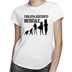 Evoluția asistentei medicale - T-shirt pentru femei