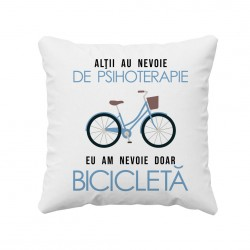 Alţii au nevoie de psihoterapie, eu am nevoie doar bicicletă - perna