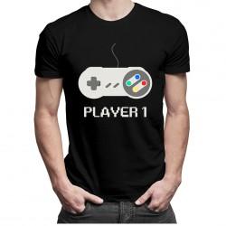 Player 1 v1- T-shirt pentru bărbați și femei