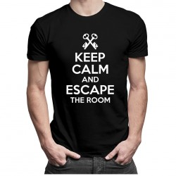 Keep calm and escape the room - T-shirt pentru bărbați și femei