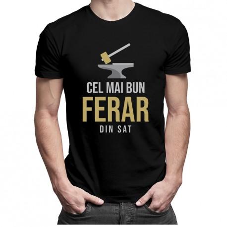 Cel mai bun ferar din sat - T-shirt pentru bărbați