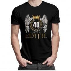 Limitată Ediție 40 ani - T-shirt pentru bărbați și femei