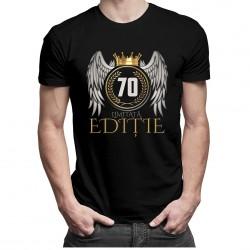 Limitată Ediție 70 ani - tricou bărbătesc cu imprimeu