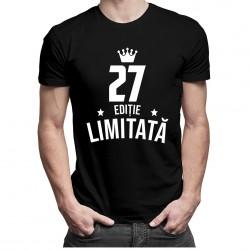 27 ani Ediție Limitată - tricou bărbătesc cu imprimeu