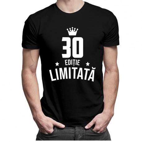 30 ani Ediție Limitată - T-shirt pentru bărbați - un cadou de ziua ta
