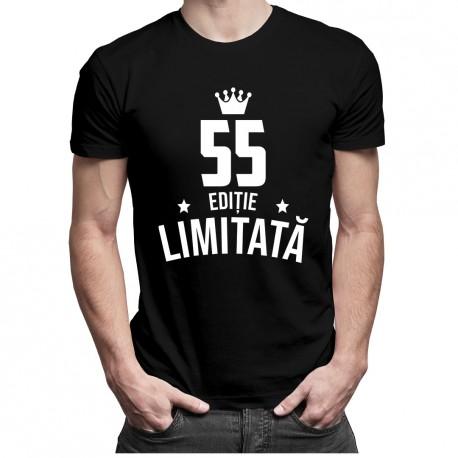 55 ani Ediție Limitată - T-shirt pentru bărbați și femei - un cadou de ziua ta